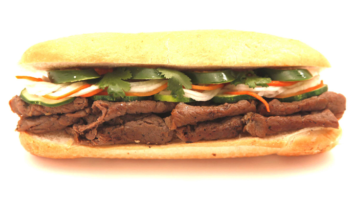 spicy pork bulgogi banh mi steak banh mi banh mi style roast beef i ...