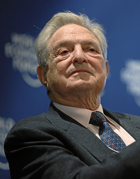 george soros family. George Soros by Sun Media.