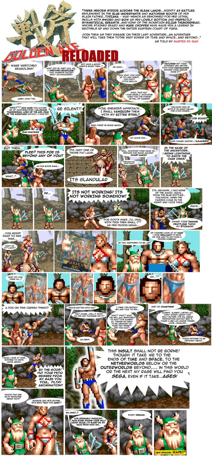 Golden Axe Reloaded - Part One - Little Man