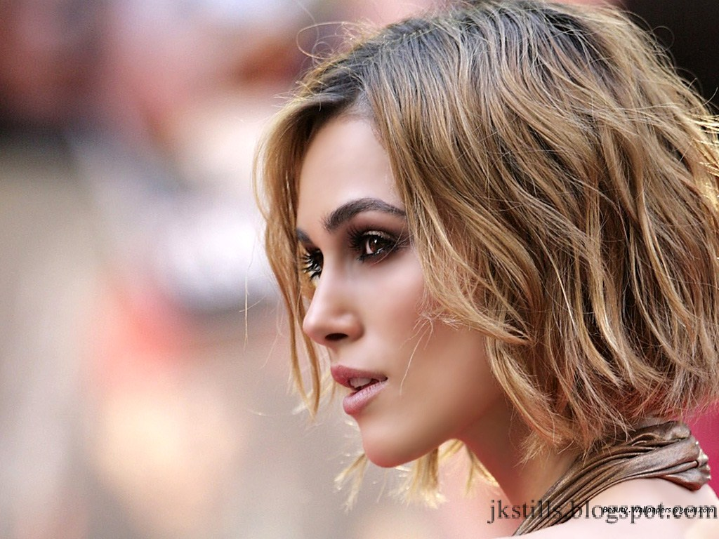 Short Hairstyle Keira Knightley