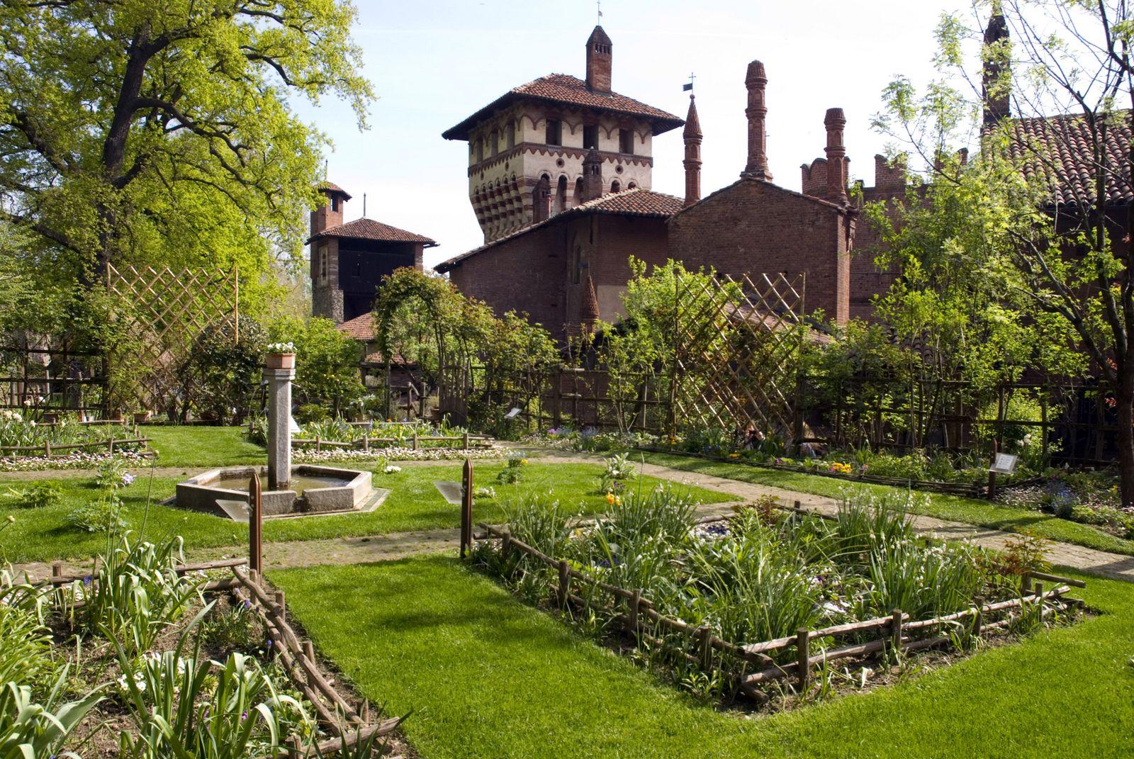 un anno al giardino medievale di torino 1 parte