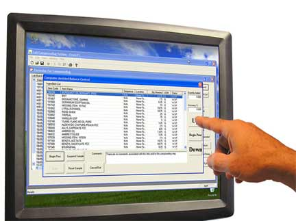 Touch screen components