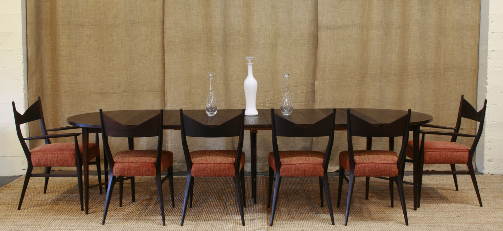 Dining Room Table Seats 8 Dimensions