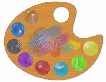 Manualidades merche el color iv for Paleta colores pintura