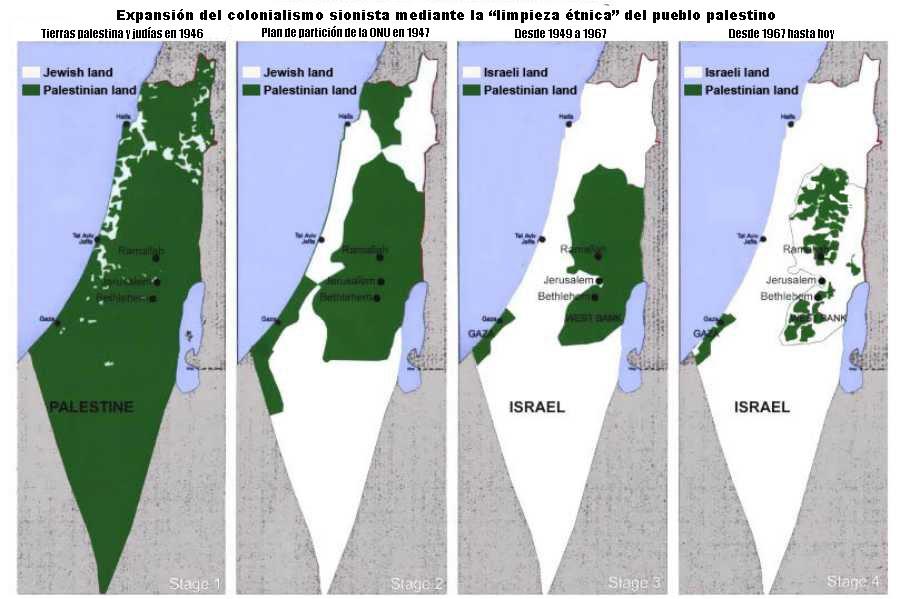 """Ближневосточное. Или как мирный Израиль """"страдает"""" от палестинских фанатиков Expansion_israel"""