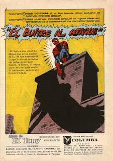 el hombre araña de el tony 219 titulos