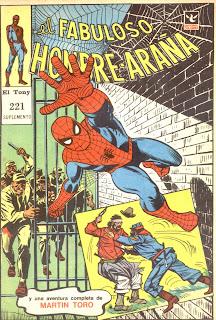 ver nota actualizada, Suplemento el Fabuloso Hombre Araña 221
