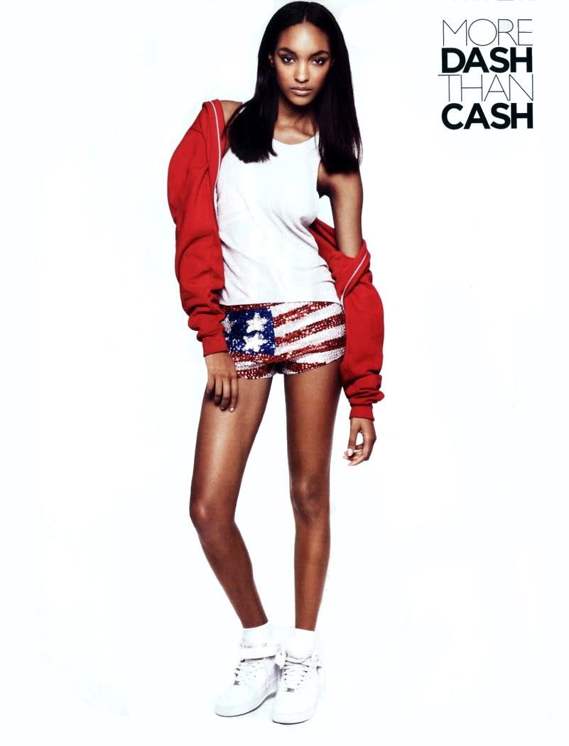 Snapshot: Jourdan Dunn by Robin Derrick for Vogue UK December 2010 ...