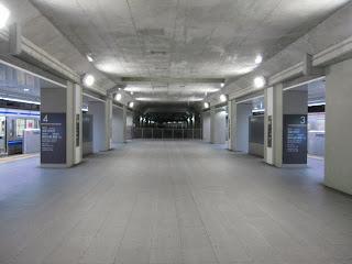 副都心線渋谷駅仮ホーム構造