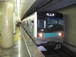 東京メトロ千代田線 霞ヶ関行き6 JR東日本E233系2000番台(平日2本運行)
