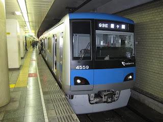 東京メトロ千代田線 霞ヶ関行き9 小田急4000形(平日1本運行)