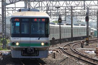 東京メトロ千代田線 霞ヶ関行き3 06系(平日12本運行)