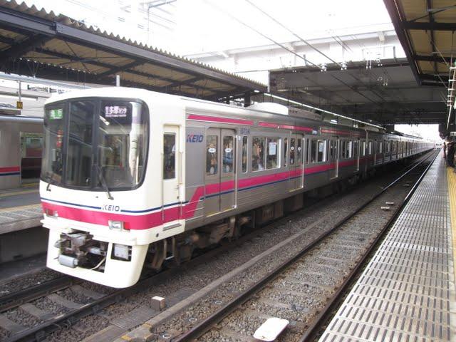 京王電鉄 急行京王多摩センター行き3 8000系(平日2本運行)