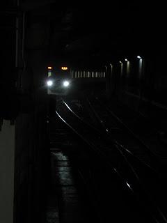 東京メトロ半蔵門線 半蔵門行き 留置線 折り返し線