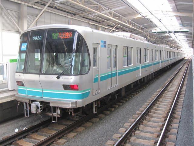 東京メトロ南北線 各停 王子神谷行き1 9000系(平日3本運行)