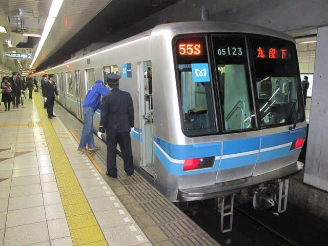 東京メトロ東西線 九段下行き2 05系LED
