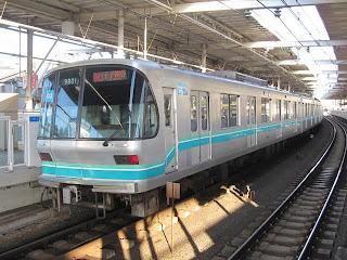東京メトロ南北線 急行 王子神谷行き 9000系(平日3本運行)