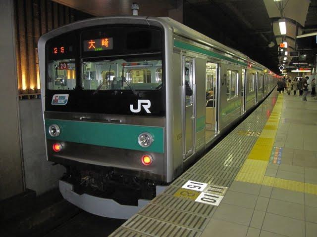 埼京線 大崎行き 205系(終電運行)