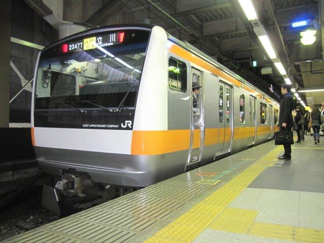中央線各駅停車 立川行き E231系(平日1本運行)