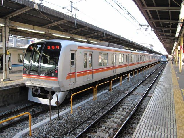 東京メトロ東西線 東陽町行5 東葉高速鉄道2000系(平日2本運行)