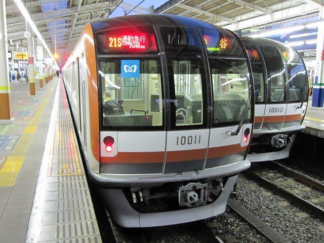 東京メトロ副都心線 通勤急行 渋谷行き2 10000系
