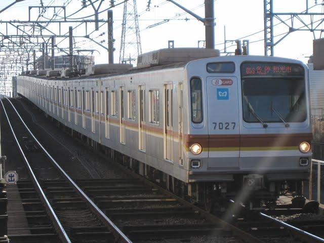 東京メトロ副都心線 各停 和光市行き1 7000系