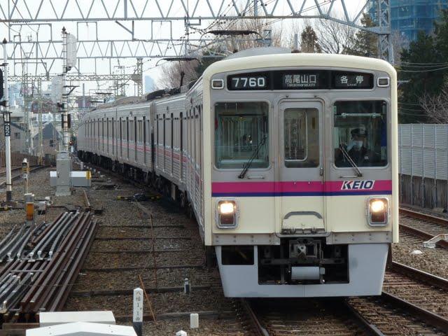 京王電鉄 各停 高尾山口行き2 7000系幕式