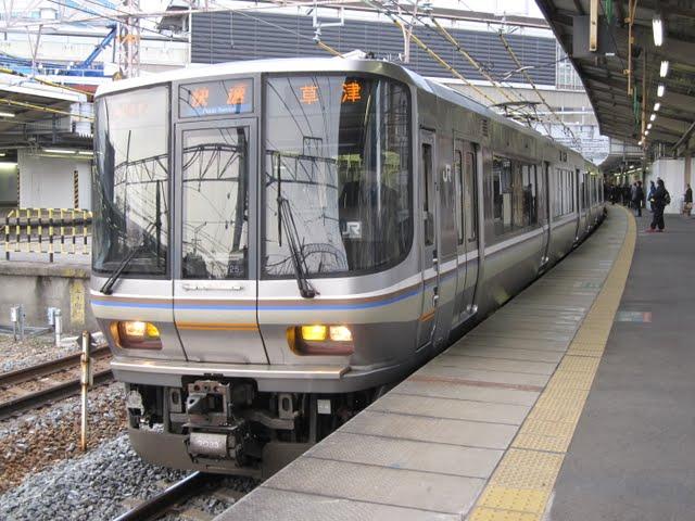 JR京都線 快速 草津行き 223系(平日1本運行)