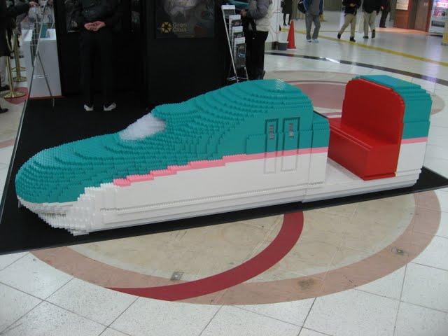 グランクラス モックアップ展示(東京駅)
