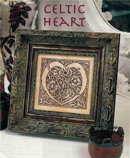 Кельтское сердце.  Схема.