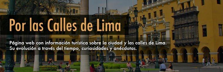 Por las calles de Lima