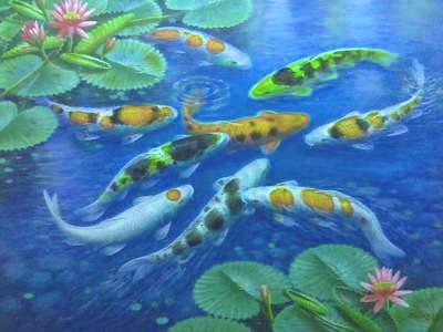 ART - Indahnya Lukisan Dandan SA - PAINTINGS FROM CIANJUR OF