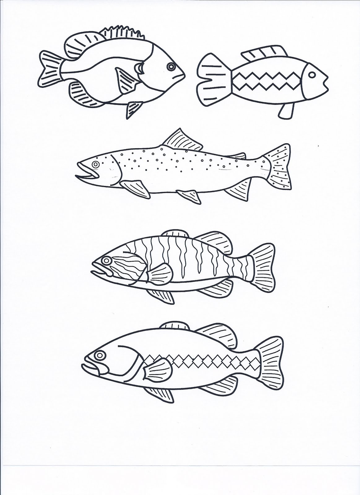 Learning and teaching with preschoolers fish songs for Fish songs for preschoolers