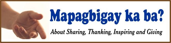 Mapagbigay Ka Ba?