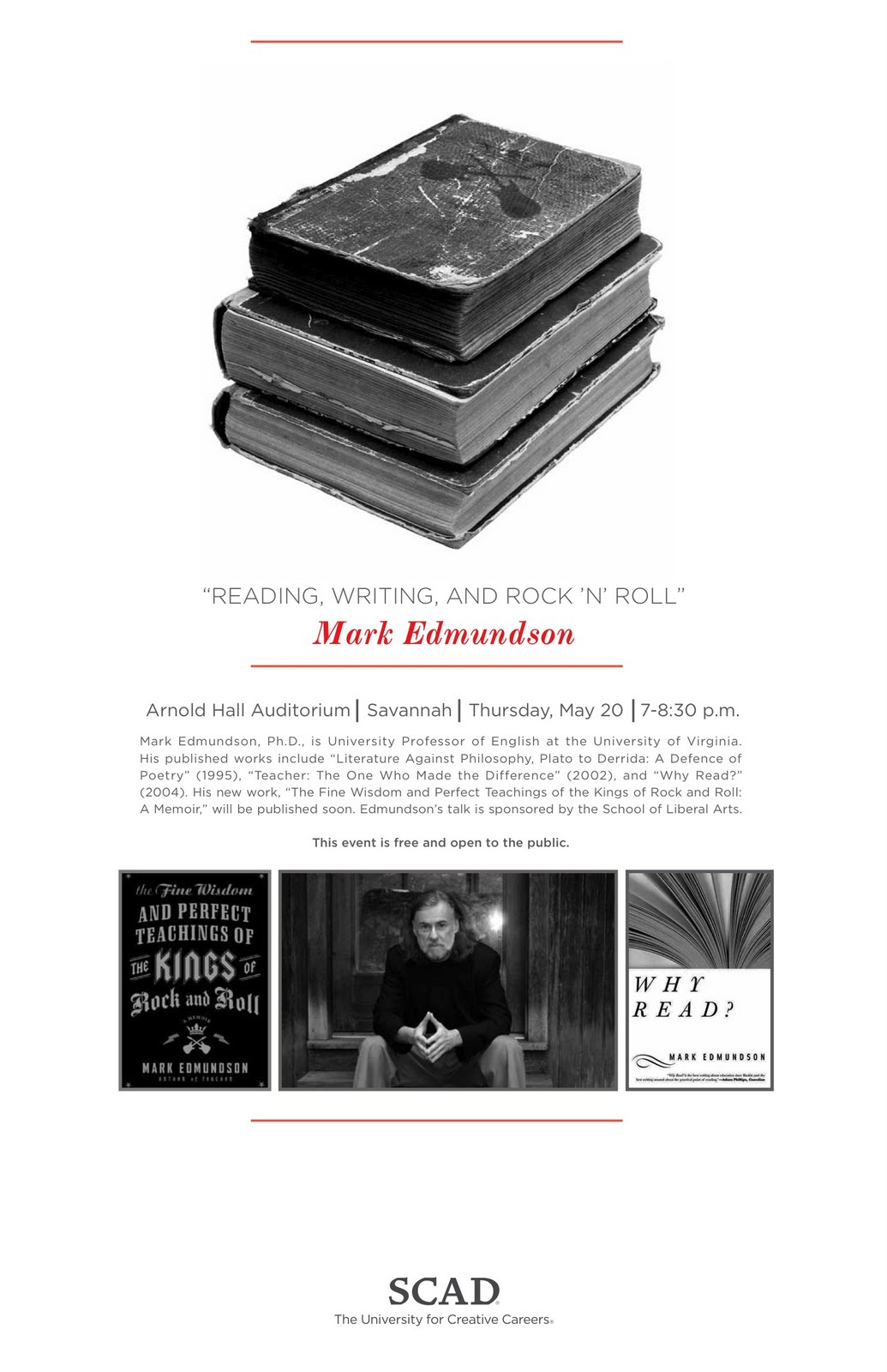why read mark edmundson Mark edmundson talked about his book, why football matters: why read professor edmundson talks about his book why read, published by bloomsbury usa.
