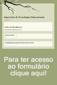 Formulário para levantamento de dados STE/NTE/Escolas