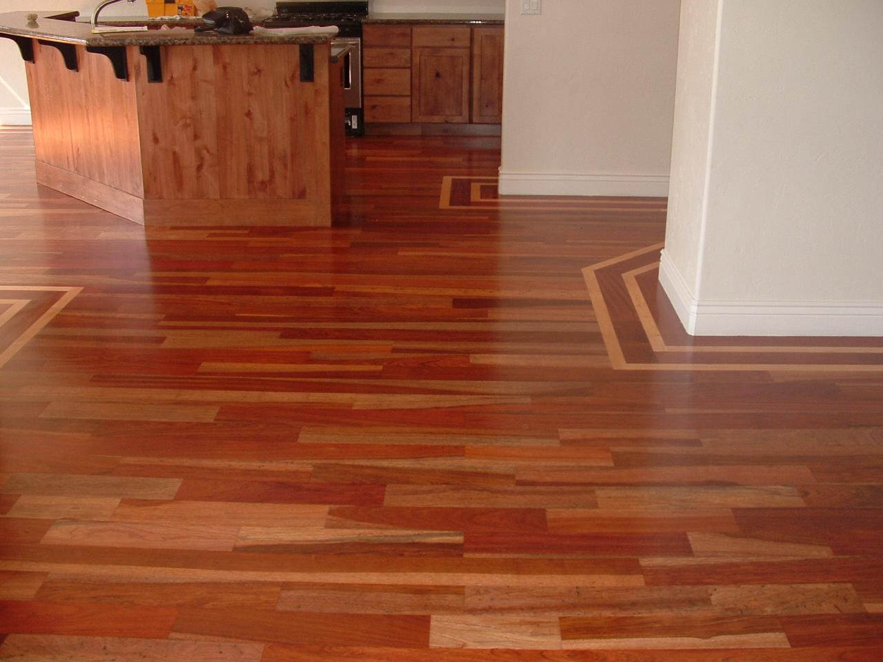 Wade homes custom hardwood flooring brazilian cherry with for Custom hardwood flooring