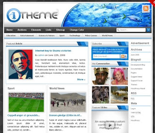 Template - One Theme version 1.0