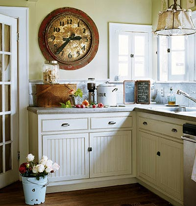 Site Blogspot  Kitchen Counters  Backsplash on This One S A Little Smaller And More Rustic But Still Just As