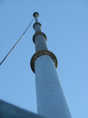 torre... ¿o mastil?