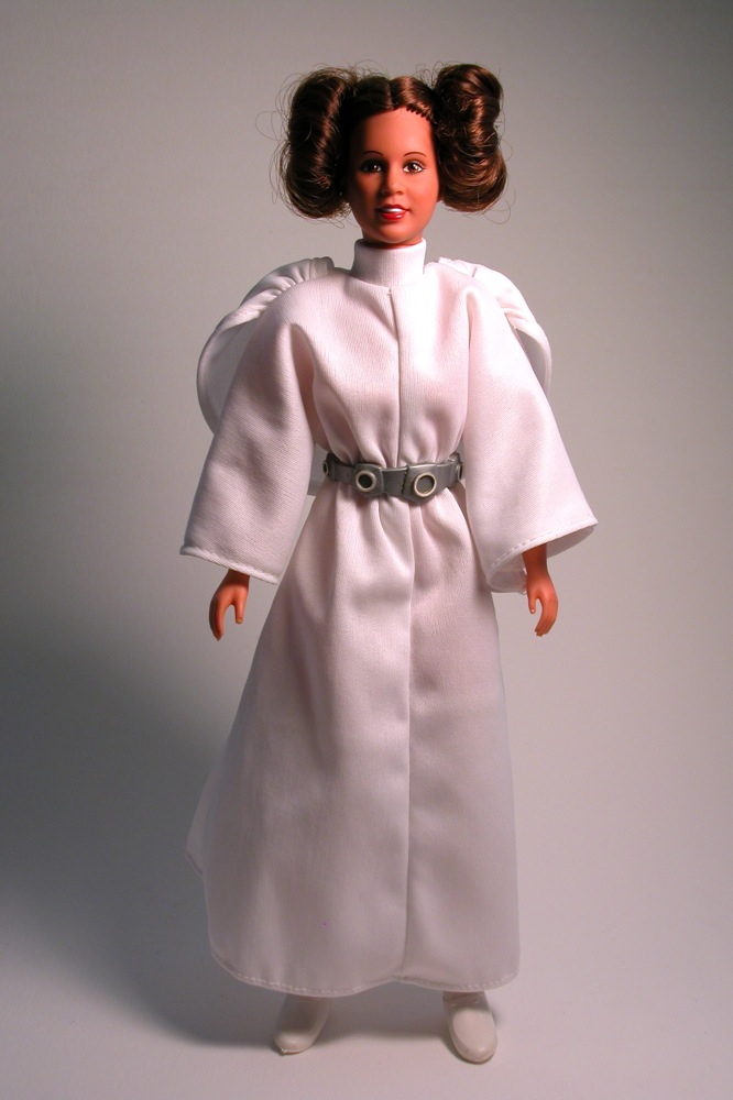 Plus size princess leia dress carrie