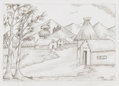 Nits Arts and Crafts Pencil Drawings
