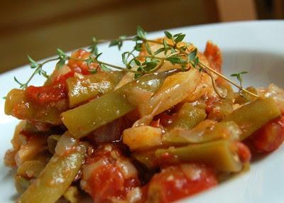 Beyond Salmon: Provençal Green Bean and Potato Stew
