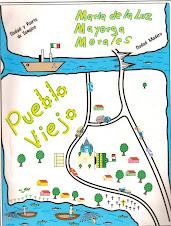 """Portada del libro """" Pueblo Viejo """""""