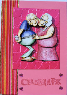 Golden Oldies decoupage - romantic couple