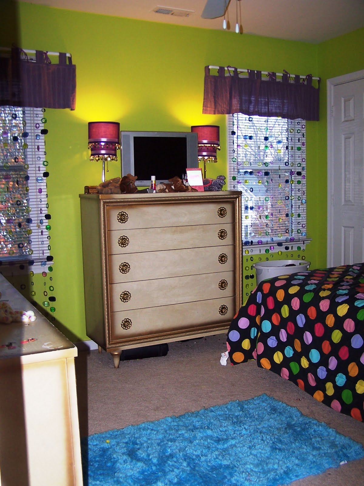 Posted by cheryl gallagher for Green and purple bedroom designs