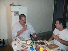 Fede y Hugo Terán