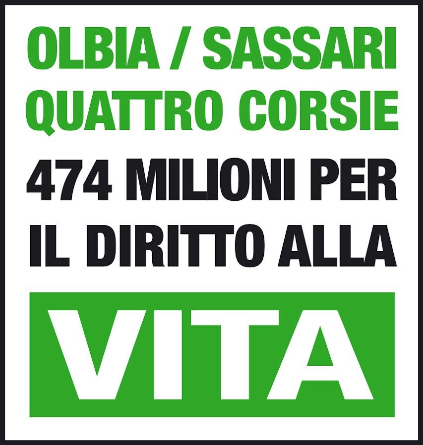 """Comitato """"Pro Strada Sassari-Olbia a 4 corsie"""" - sede Su Canale (OT)"""