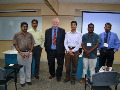 Dr Stephen Crocker with members of ISOC