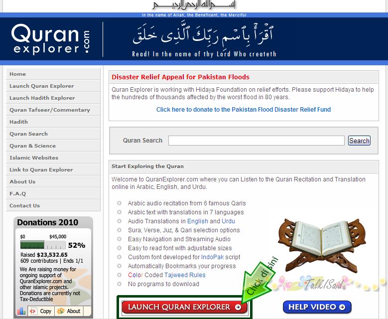 Citaten Quran Explorer : Talkisaid mode bengang di bulan puasa